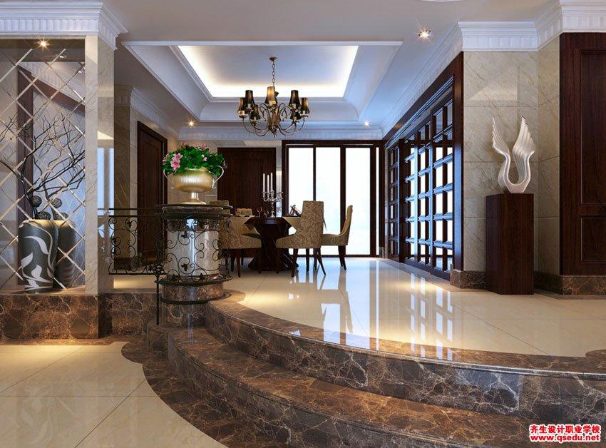 室内设计餐厅效果图
