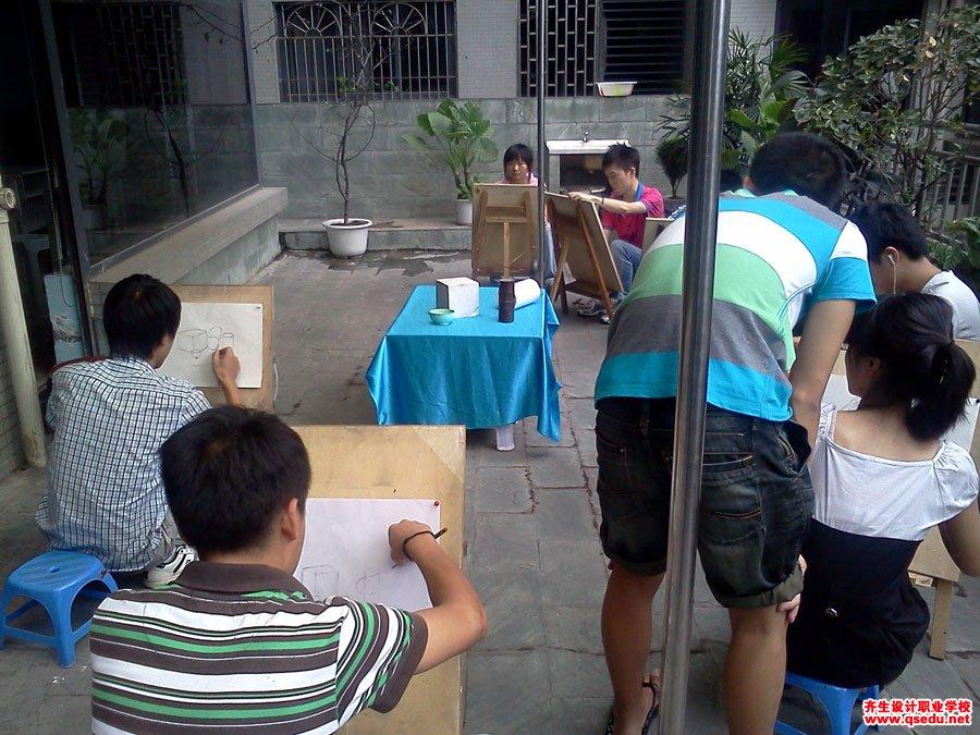 齐生设计职业学校2011年6月手绘课照片4