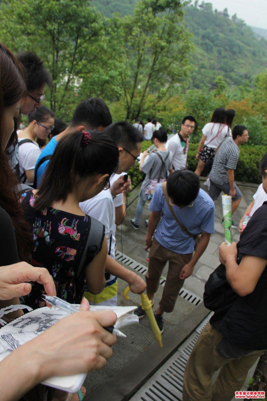 齐生设计职业学校2013年7月校外学习6