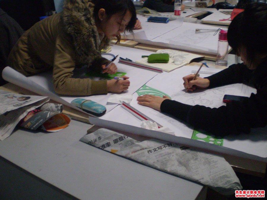 齐生园林景观设计手绘方案平面图制图8