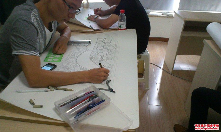 园林景观方案设计手绘平面图1