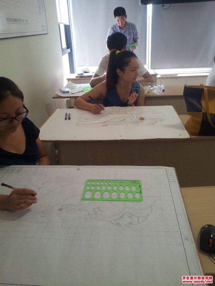园林景观方案设计手绘平面图4