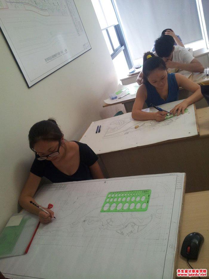园林景观方案设计手绘平面图5