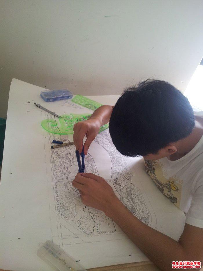 园林景观方案设计手绘平面图6