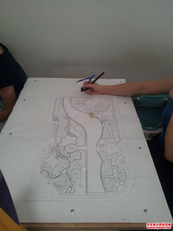 园林景观方案设计手绘平面图7