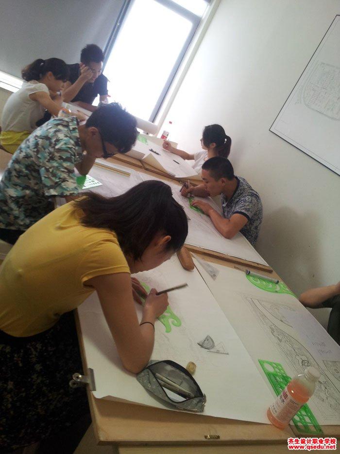 园林景观方案设计手绘平面图8