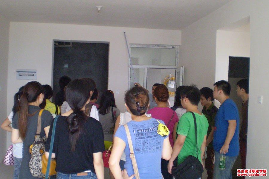 齐生室内设计现场量房学习2