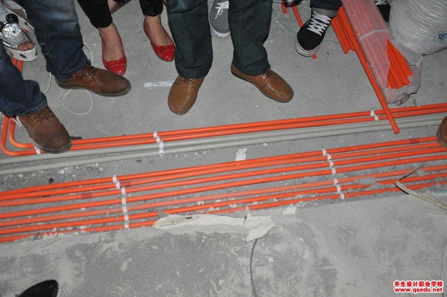 室内设计强弱电施工现场学习5