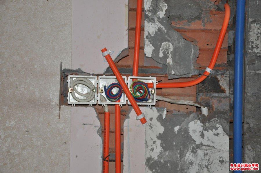 室内设计强弱电施工现场学习7