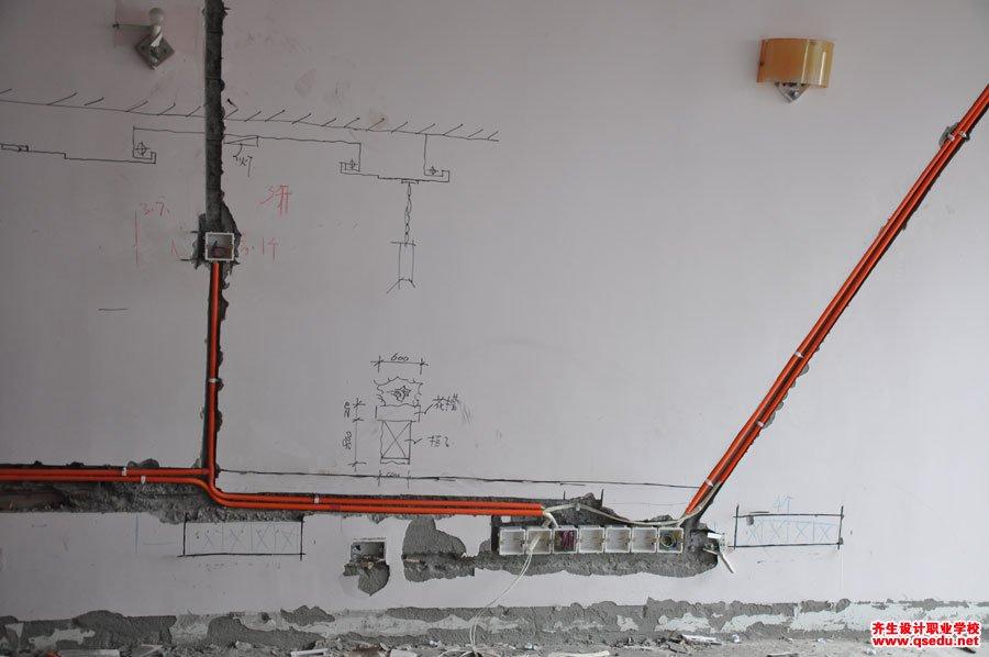 室内设计强弱电施工现场学习8