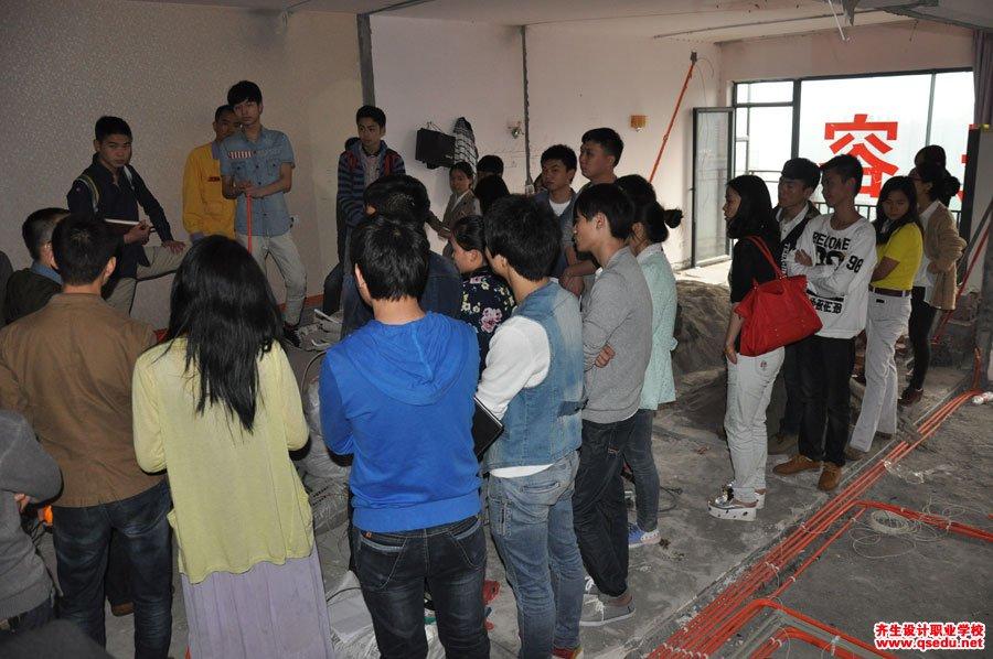 室内设计强弱电施工现场学习10