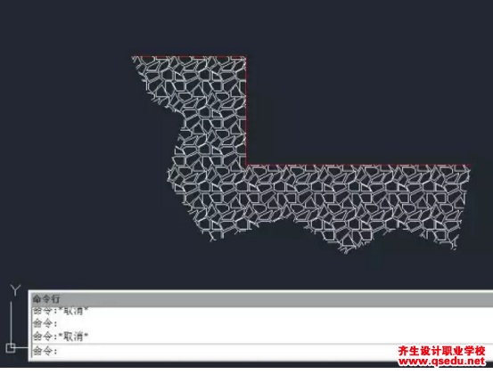 CAD中如何创建无边界的图案填充?
