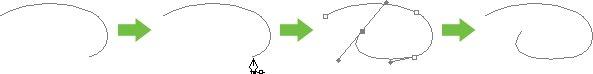 PS新手入门教程第86课:用路径调板绘制路径