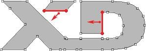 PS新手入门教程第90课:用PS路径制作logo标志