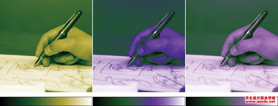 PS新手入门教程第96课:用渐变映射调整色彩