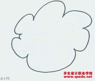 景观方案设计教程十四:自由的椭圆和扇贝形的图案