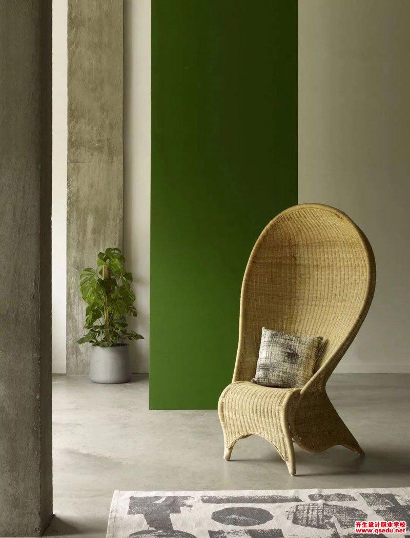软装材质:木头、藤条、黄铜在室内空间的运用