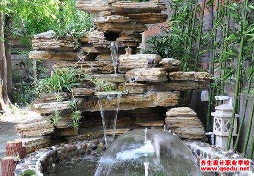 庭院水池的设计方法和设计形式图片