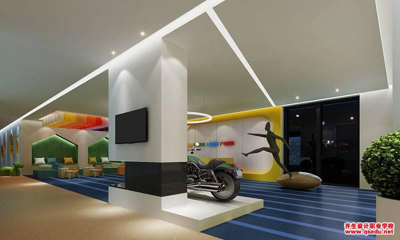 室内天棚、墙面、地面色彩搭配分析