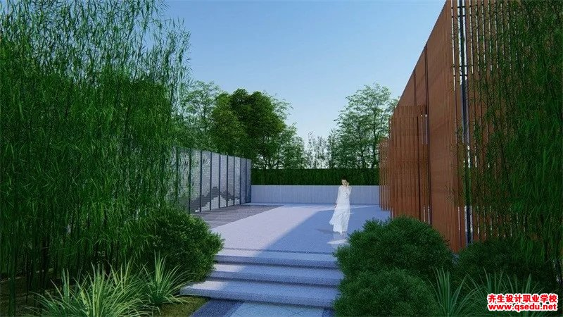 新中式景观空间的一次艺术化尝试