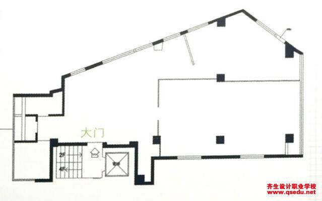室内设计:五边形异形户型案例设计方法思路