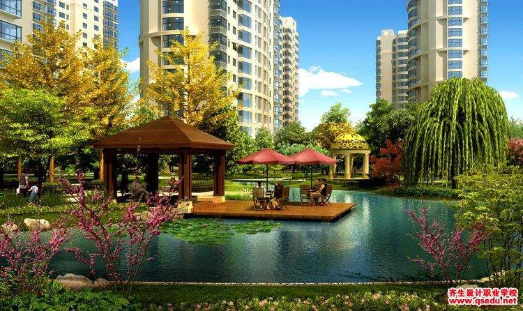 景观设计发展前景:中国地产园林市场空间测算分析