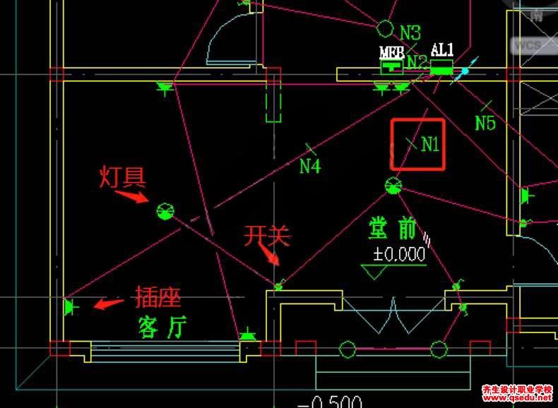 电气专业CAD识图及实例讲解