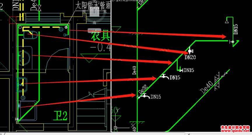 给排水专业CAD图纸怎么识别?