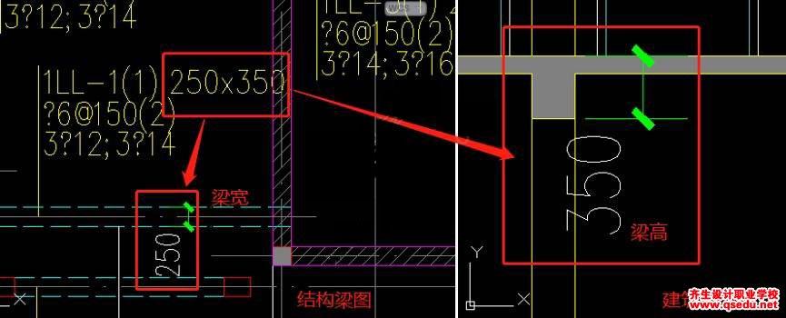 结构专业CAD图纸怎么识别?